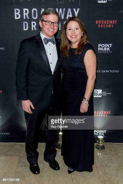 Jay and Elizabeth Falkner attend the10th Annual Broadway Dreams Supper at The Plaza Hotel on December 12 2017 in New York City
