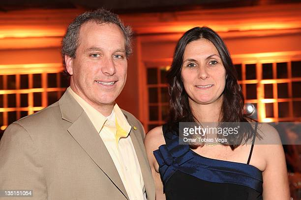 Jay and Liz Scott attend Lemon NYC A Culinary Event to Fight Childhood Cancer at Industria Superstudio on December 6 2011 in New York City