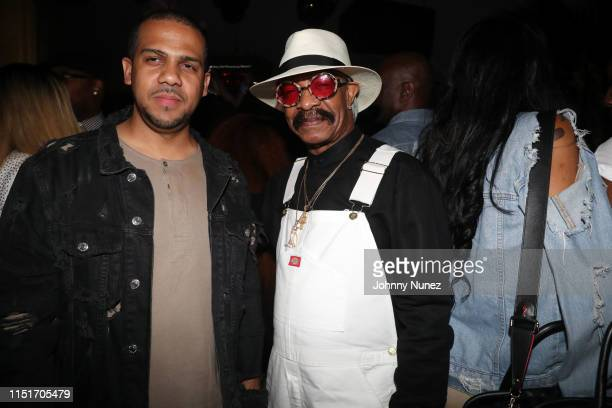 Jay Andino and Dennis Graham attend the 9th Annual Mark Pitts And Bystorm PostBET Awards Celebration on June 23 2019 in West Hollywood California