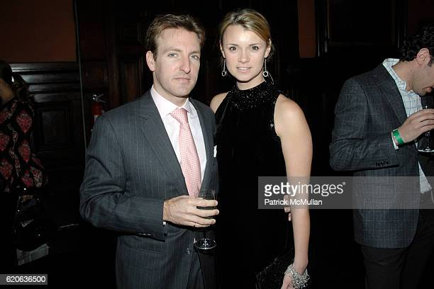 Jay Aston and Alison Aston attend WINTER ANTIQUES SHOW Young Collectors' Night at The Seventh Regiment Armory on Park Avenue on January 24 2008 in...