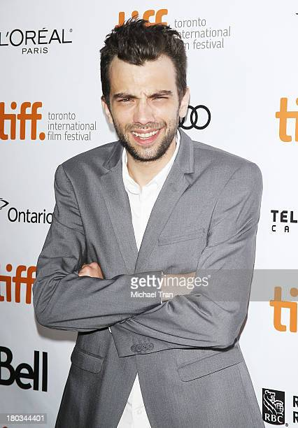 Jay Baruchel arrives at The Art Of The Steal premiere during the 2013 Toronto International Film Festival held at Roy Thomson Hall on September 11...