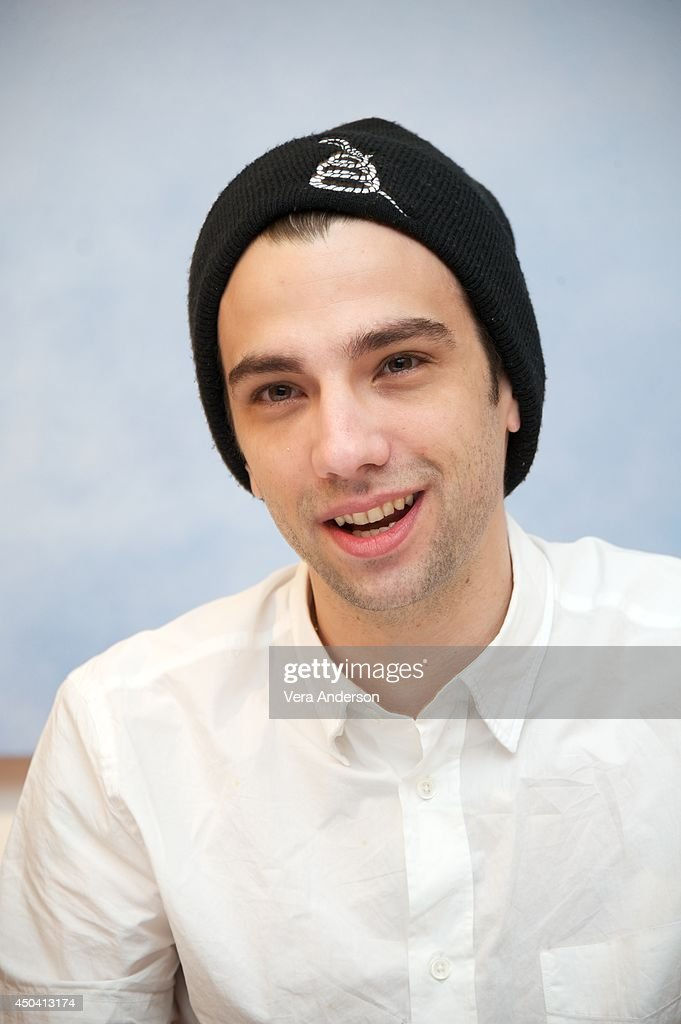 Jay Baruchel at the 'How To Train Your Dragon 2' Press Conference at the Pacific Design Center on June 9, 2014 in West Hollywood, CA.