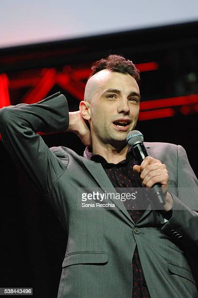Jay Baruchel attends Rogers Upfronts 2016 at Rogers Centre on June 6 2016 in Toronto Canada