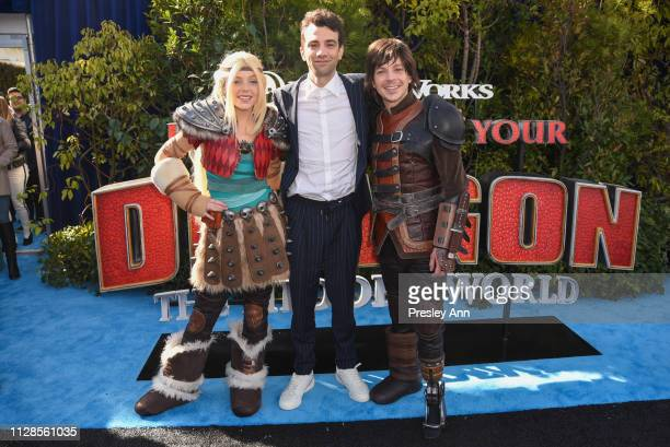 Jay Baruchel attends Universal Pictures and DreamWorks Animation Premiere of How to Train Your Dragon The Hidden World at Regency Village Theatre on...