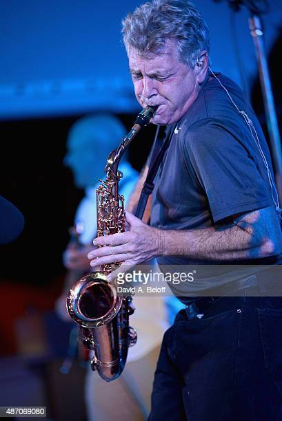 Jay Beckenstein of Spyro Gyra performs live at the American Music Festival on September 5 2015 in Virginia Beach Virginia