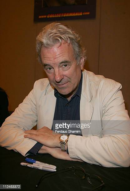 Jay Benedict attends the London Film and Comic Convention at Earls Court on July 19 2008 in London England