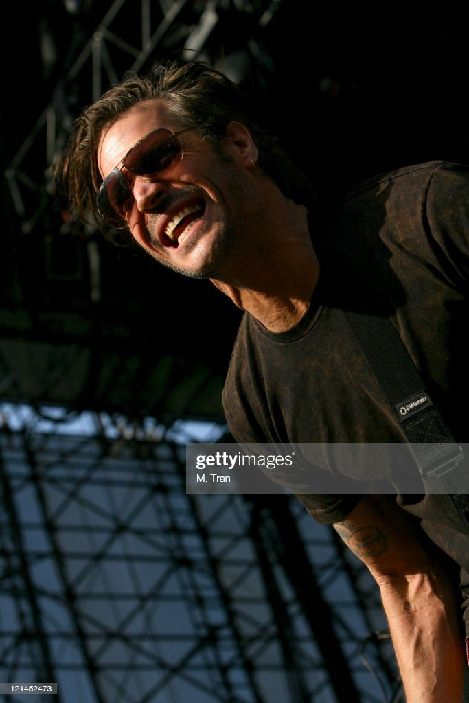 Jay Bentley of Bad Religion during KROQ Weenie Roast Y Fiesta 2007 - Show at Verizon Amphitheater in Irvine, California, United States.