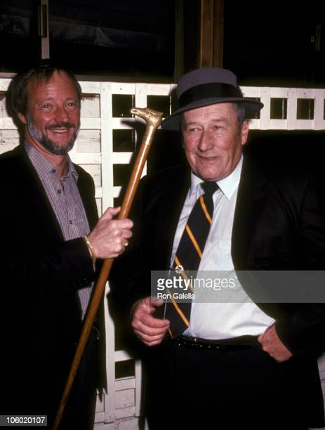 Jay Bernstein and Mickey Spillane during Wrap Party for the Film 'Murder Me Murder You' at Ma Maison Restaurant in Beverly Hills California United...