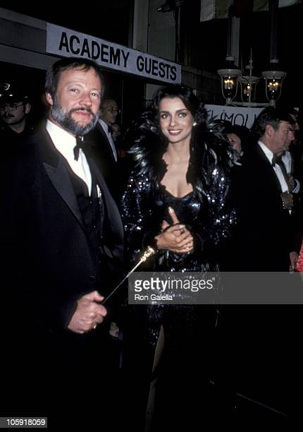 Jay Bernstein and Persis Khambatta during 52nd Annual Academy Awards Governor's Ball at Dorothy Chandler Pavillion in Los Angeles California United...