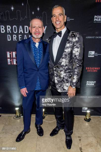 Jay Binder and Jerry Mitchell attend the10th Annual Broadway Dreams Supper at The Plaza Hotel on December 12 2017 in New York City