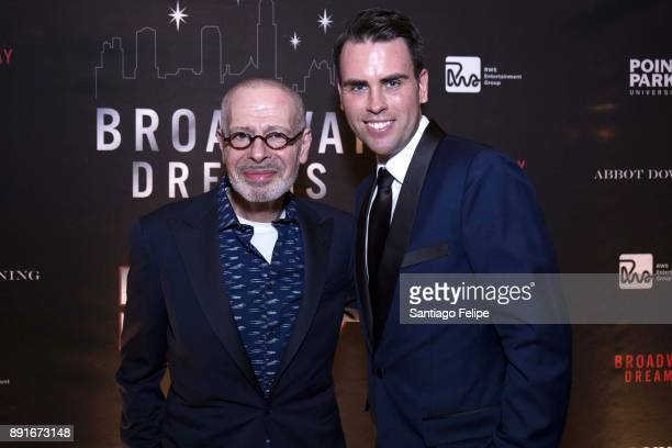 Jay Binder and Ryan Stana attend the 10th Annual Broadway Dreams Supper at The Plaza Hotel on December 12 2017 in New York City