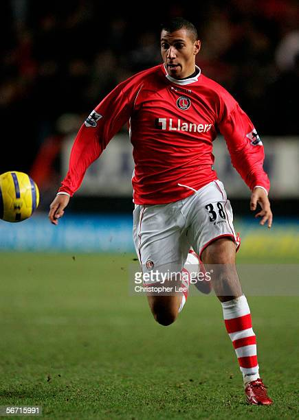 Jay Bothroyd of Charlton in action during the Barclays Premiership match between Charlton and West Bromwich Albion at The Valley on January 31, 2006...