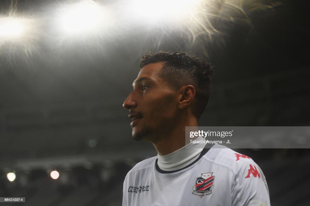 Jay Bothroyd of Consadole Sapporo celebrates his side's 2-1 victory in the J.League J1 match between FC Tokyo and Consadole Sapporo at Ajinomoto Stadium on October 21, 2017 in Chofu, Tokyo, Japan.