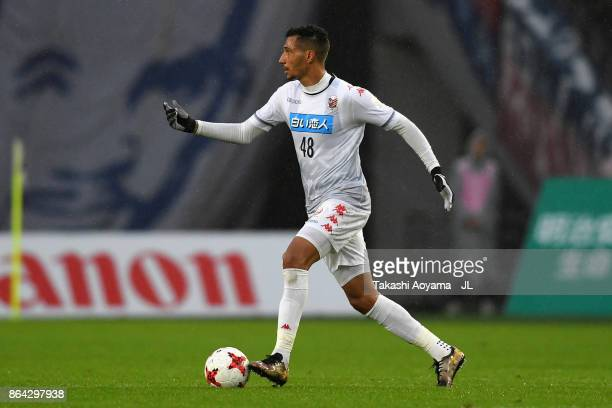 Jay Bothroyd of Consadole Sapporo in action during the JLeague J1 match between FC Tokyo and Consadole Sapporo at Ajinomoto Stadium on October 21...