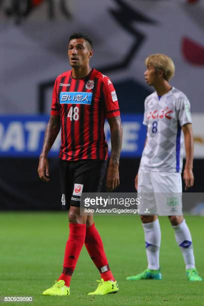 Jay Bothroyd of Consadole Sapporo in ation during the JLeague J1 match between Consadole Sapporo and Ventforet Kofu at Sapporo Dome on August 13 2017...
