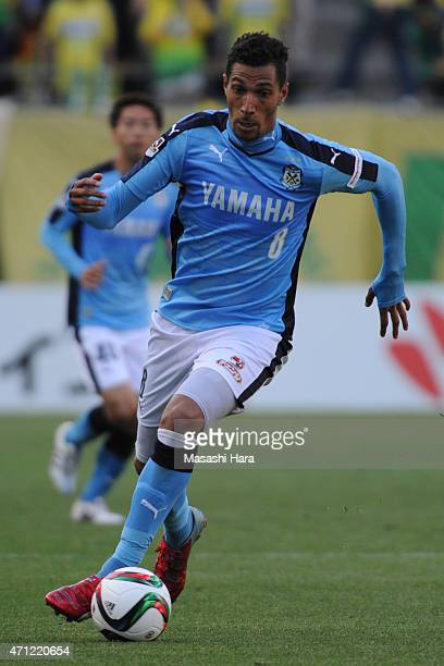 Jay Bothroyd of Jubilo Iwata in action during the JLeague second division match between JEF United Chiba and Jubilo Iwata at Fukuda Denshi Arena on...
