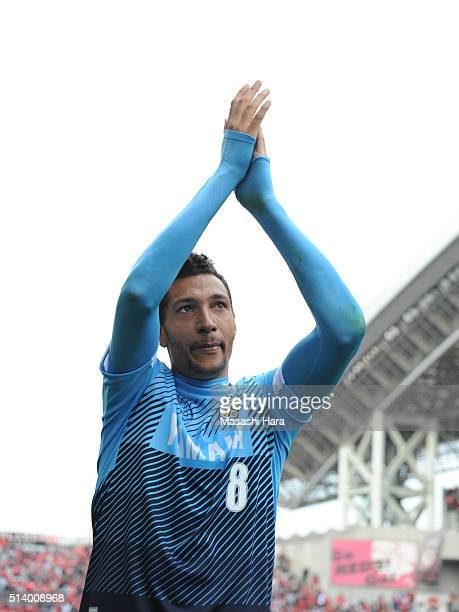 Jay Bothroyd of Jubilo Iwata looks on after the JLeague match between Urawa Red Diamonds and Jubilo Iwata at Saitama Stadium on March 6 2016 in...