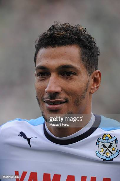 Jay Bothroyd of Jubilo Iwata looks on during the JLeague second division match between Tokyo Verdy and Jubilo Iwata at Ajimonoto Stadium on November...