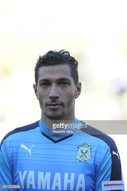 Jay Bothroyd of Jubilo Iwata looks on prior to the JLeague second division match between JEF United Chiba and Jubilo Iwata at Fukuda Denshi Arena on...