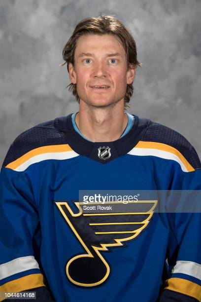 Jay Bouwmeester of the St Louis Blues poses for his official headshot for the 20182019 season on September 13 2018 in St Louis Missouri
