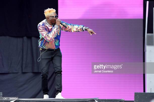 Jay Breeze performs during the Global Citizen Festival Mandela 100 at FNB Stadium on December 2 2018 in Johannesburg South Africa