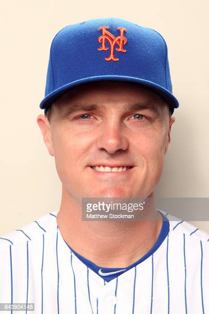 Jay Bruce poses for a portrait during New York Mets Photo Day at Tradition Field on February 22 2017 in Port St Lucie Florida