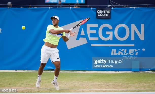 Jay Clarke of Great Britain in action during his quarter final match on June 24 2017 in Ilkley England