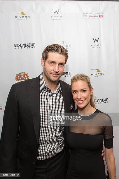Jay Cutler and Kristin Cavallari attend Michigan Avenue Magazine's Fall Fashion Issue Celebration With Kristin Cavallari at W Chicago Lakeshore on...