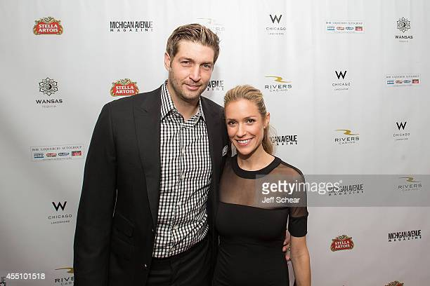 Jay Cutler and Kristin Cavallari attend Michigan Avenue Magazine's Fall Fashion Issue Celebration With Kristin Cavallari at W Chicago Lakeshore on...