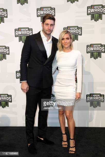 Jay Cutler and Kristin Cavallari attend the Monster Energy NASCAR Cup Series Awards at Music City Center on December 05 2019 in Nashville Tennessee