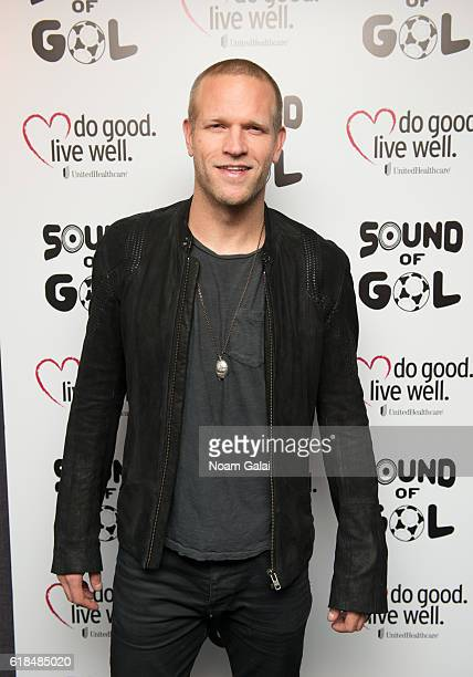 Jay DeMerit attends the 2016 Sound of Gol Fundraiser at The Chester on October 26 2016 in New York City