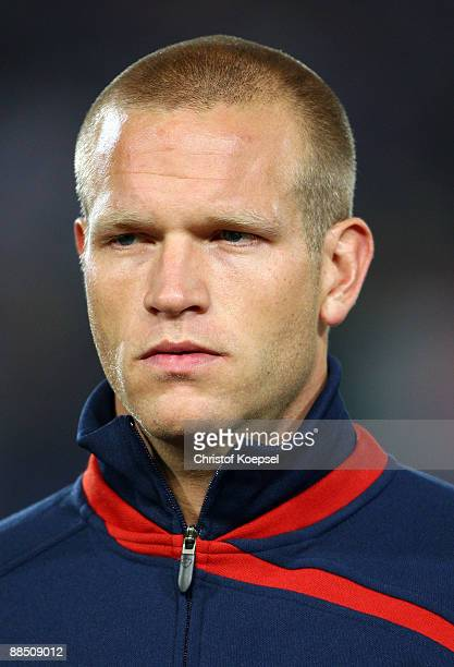 Jay DeMerit of the USA is seen during the FIFA Confederations Cup match between USA and Italy at Loftus Versfeld Stadium on June 15 2009 in Pretoria...