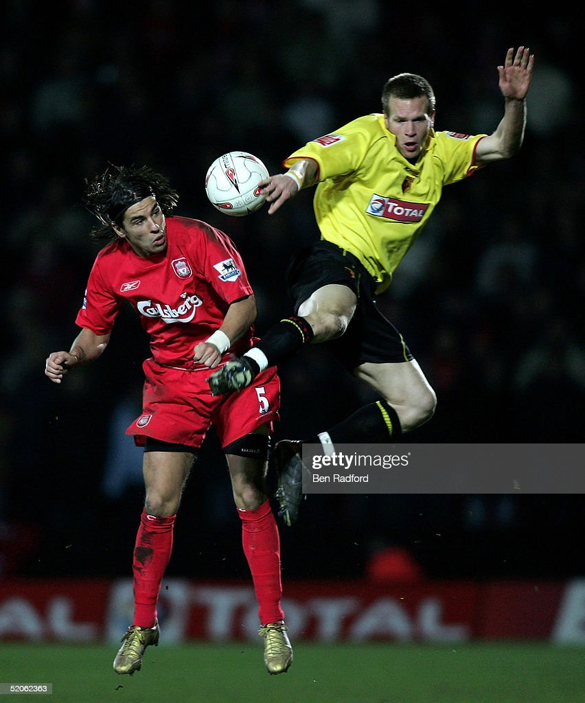 Carling Cup Semi Final 2nd leg Watford v Liverpool : News Photo