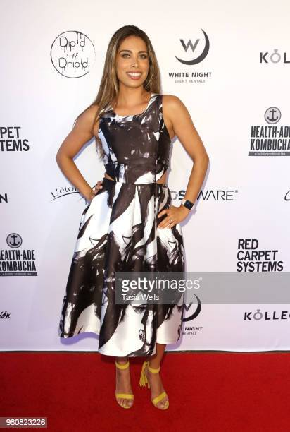 Jay Demircift and guests attend Kollectin Fashion Jewelry popup night on June 21 2018 in Los Angeles California