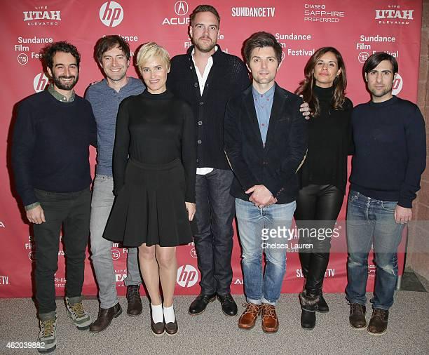 Jay Duplass actor Mark Duplass actress Judith Godreche director Patrick Brice actor Adam Scott producer Naomi Scott and actor Jason Schwartzman...