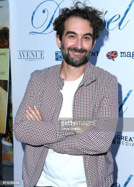 Jay Duplass arrives at the Magnolia Pictures' 'Damsel' Premiere at ArcLight Hollywood on June 13 2018 in Hollywood California