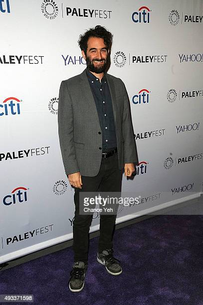 Jay Duplass attends PaleyFest New York 2015 Transparent at The Paley Center for Media on October 19 2015 in New York City