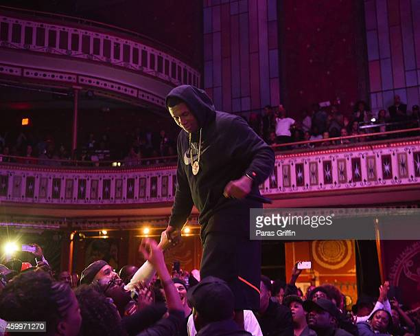 Jay Electronica performs at The Tabernacle on December 4 2014 in Atlanta Georgia