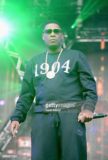 Jay Electronica performs during the 2016 Budweiser Made in America Festival at Benjamin Franklin Parkway on September 3 2016 in Philadelphia...