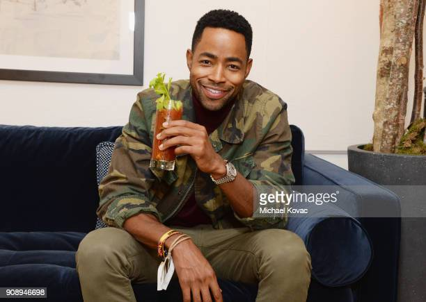 Jay Ellis attends as Grey Goose Blue Door hosts the casts of gamechanging films during the Sundance Film Festival at The Grey Goose Blue Door on...