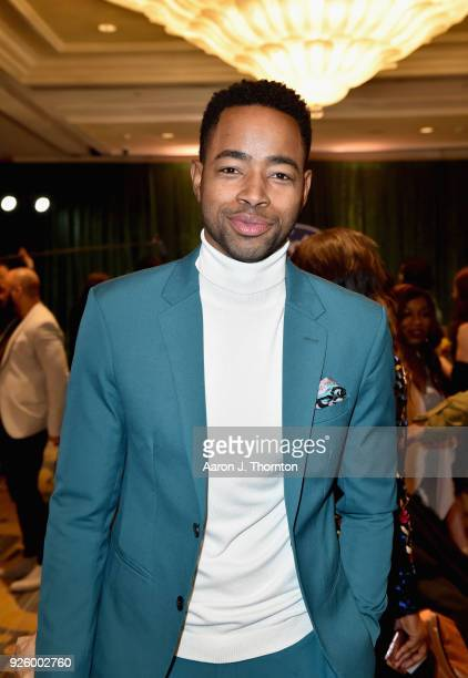 Jay Ellis attends the 2018 Essence Black Women In Hollywood Oscars Luncheon at Regent Beverly Wilshire Hotel on March 1 2018 in Beverly Hills...