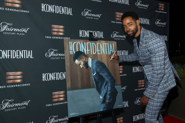 CA: Los Angeles Confidential Celebrates Its October Issue With Jay Ellis