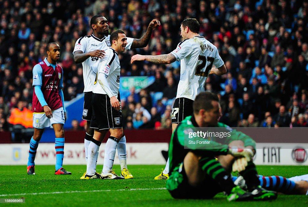 Aston Villa v Ipswich Town - FA Cup Third Round