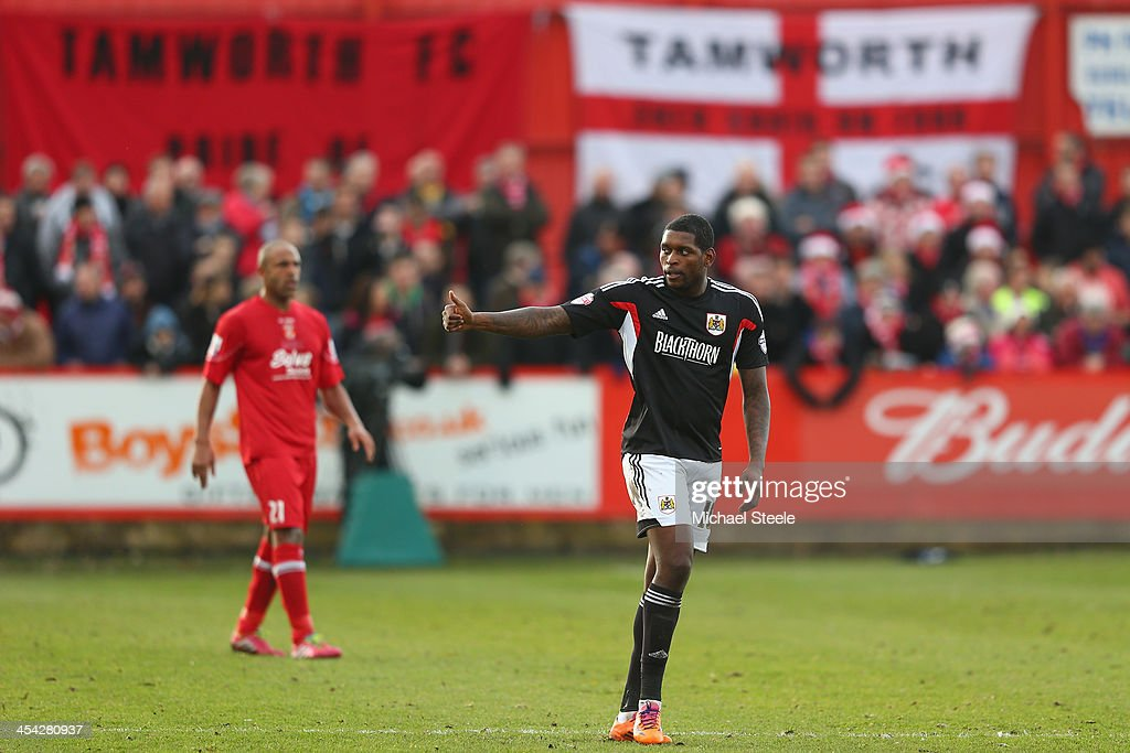 Tamworth v Bristol City - FA Cup Second Round