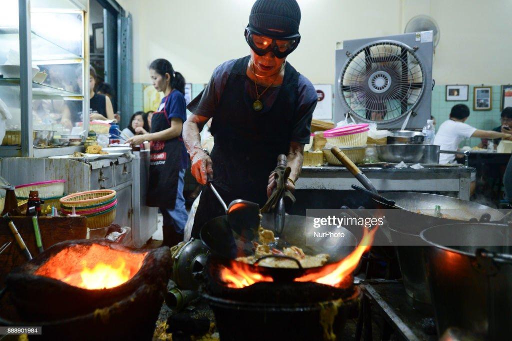 Street food Jae Fai restaurant has been awarded a Michelin star : Fotografía de noticias