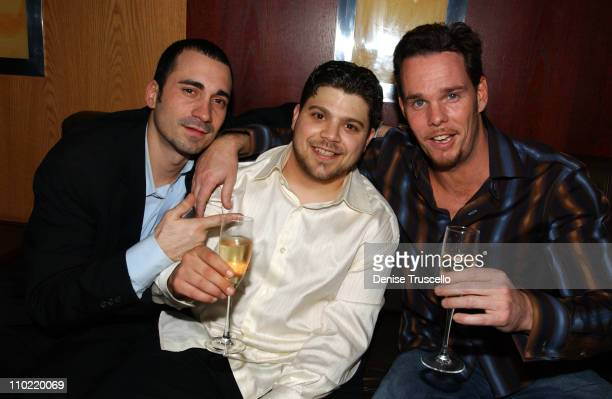 Jay Giannone Jerry Ferrara and Kevin Dillon during 3rd Anniversary Celebration of LIGHT Nightclub at The Bellagio at Caramel at The Bellagio in Las...