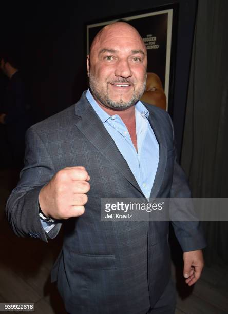 Jay Glazer attends the Los Angeles Premiere of Andre The Giant from HBO Documentaries on March 29 2018 in Los Angeles California