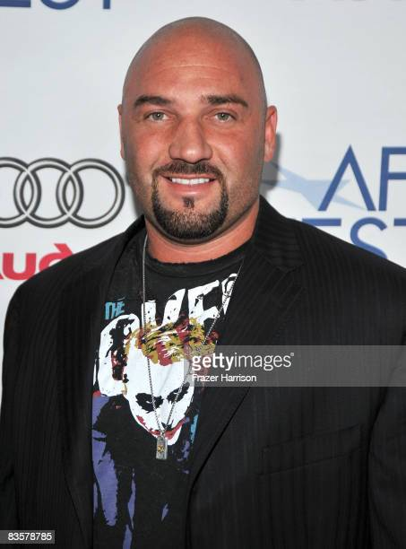 Jay Glazer of FOX Sports attends the 2008 AFI FEST Tribute To Tilda Swinton held at Arclight Hollywood on November 5 2008 in Hollywood California