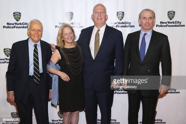 Jay Guenther James O'Neill Ella Foshay and Michael Rothfeld attend the New York City Police Foundation 2018 Gala on May 17 2018 in New York City