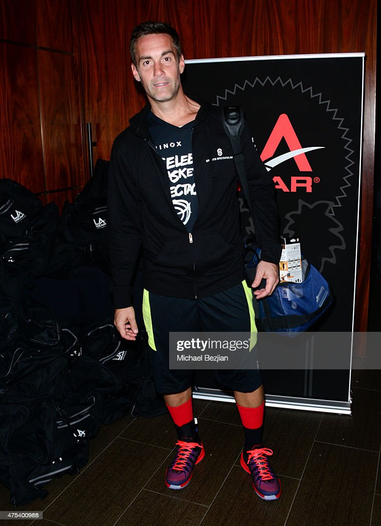 Jay Harrington attends LA Gear Presents Sports Spectacular Charity Basketball Game Hosted By Tyga on May 30, 2015 in Los Angeles, California.